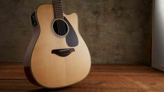 acoustic electric guitars