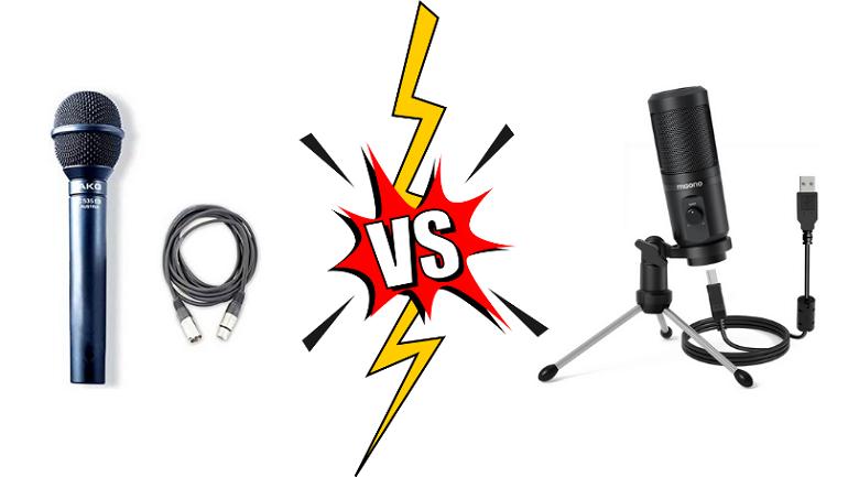 USB vs XLR
