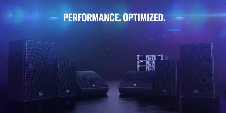 Yamaha представляет акустические системы CHR и DHR PA