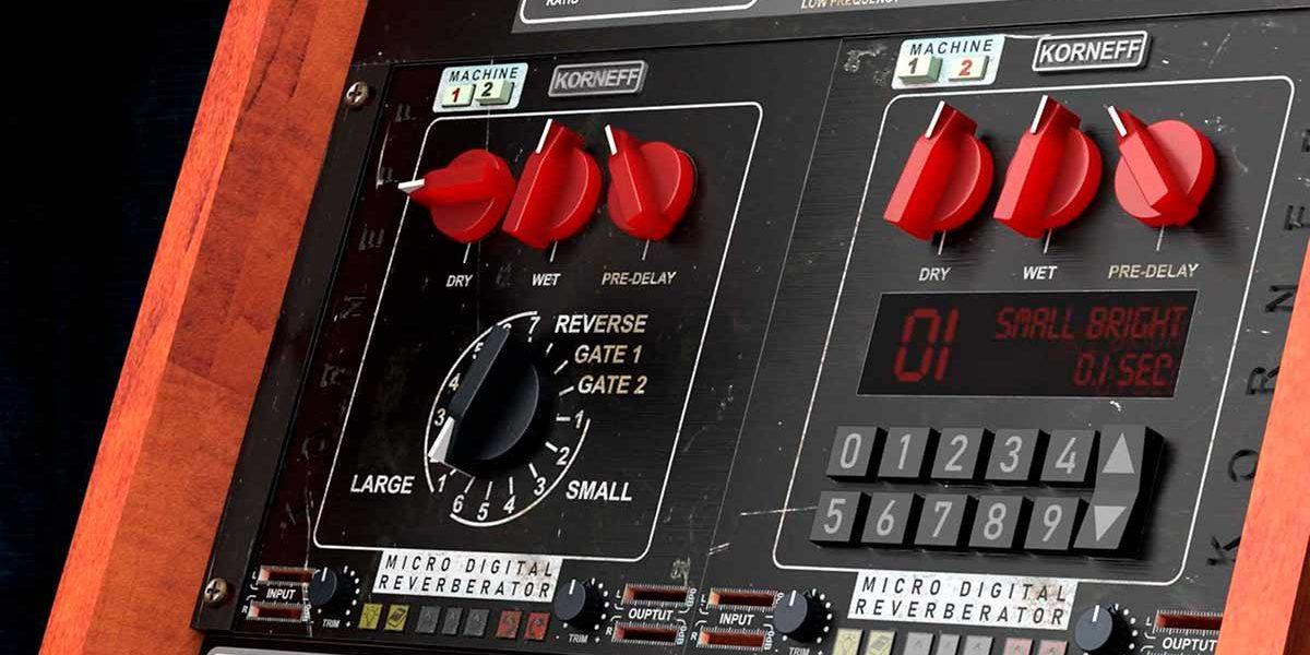 Цифровой ревербератор Korneff Audio Micro